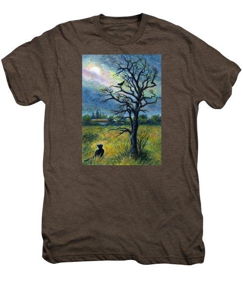 Moonlight Prowl Men's Premium T-Shirt