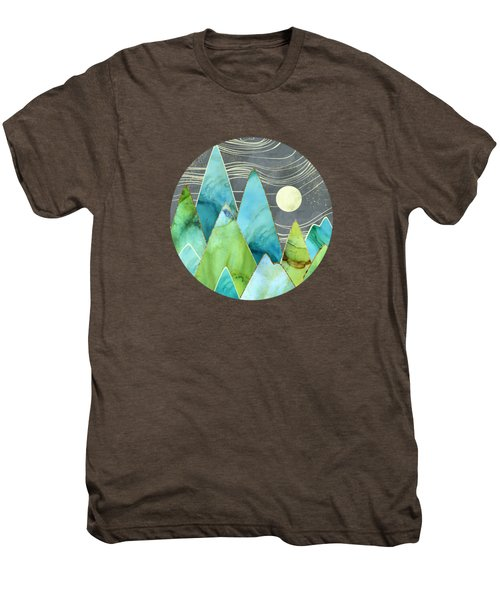 Moonlit Mountains Men's Premium T-Shirt