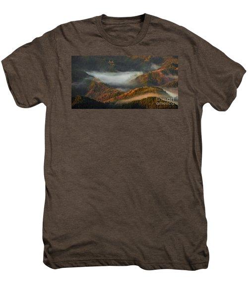 Morning Light Men's Premium T-Shirt by Tatsuya Atarashi