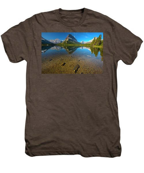 Mt. Grinnell Men's Premium T-Shirt