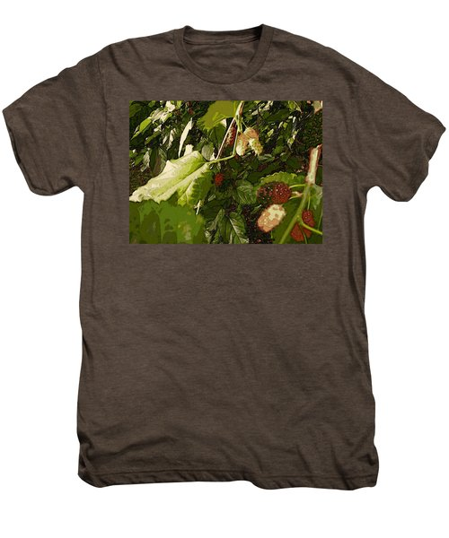 Mulberry Moment Men's Premium T-Shirt by Winsome Gunning
