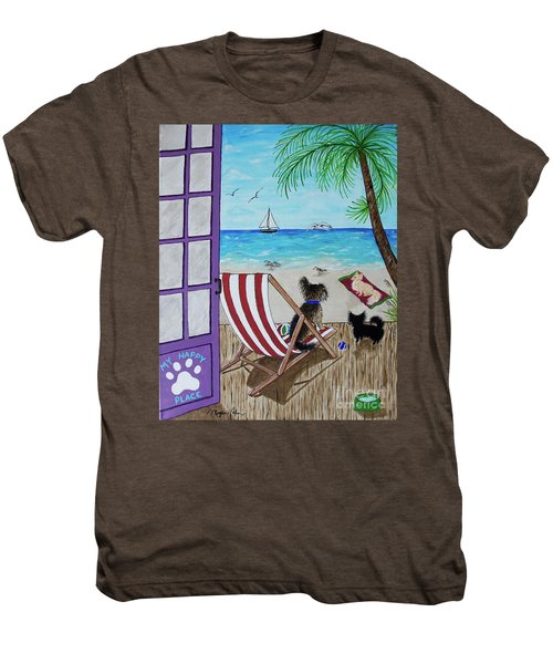 My 3 By The Sea Men's Premium T-Shirt