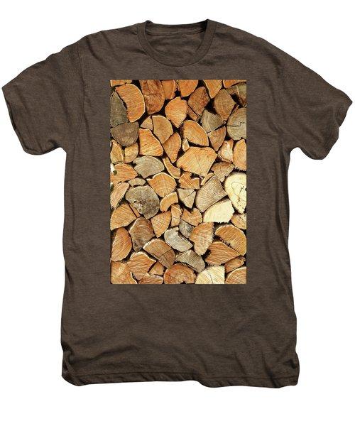 Natural Wood Men's Premium T-Shirt