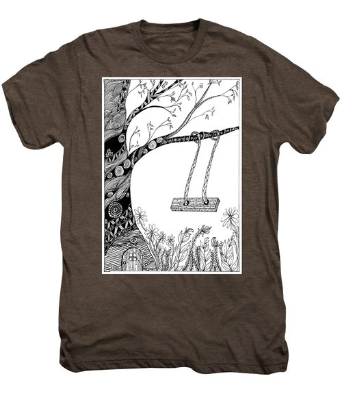 Nature Is Calling Come Out And Play Men's Premium T-Shirt