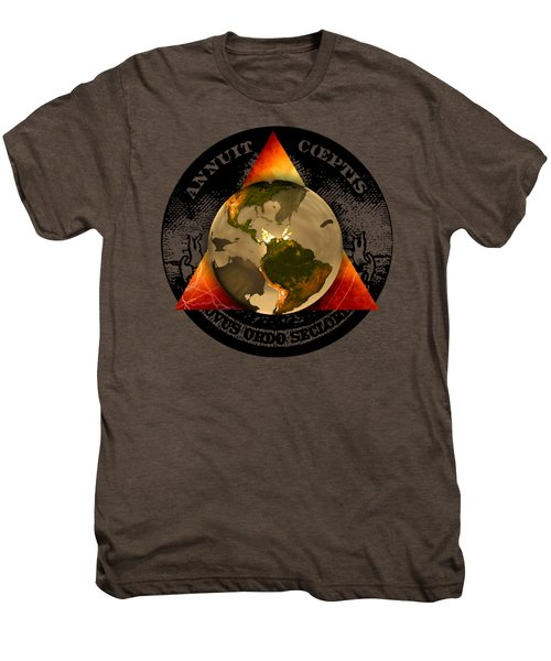 New World Order By Pierre Blanchard Men's Premium T-Shirt by Pierre Blanchard