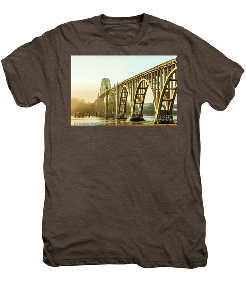 Newport Bridge Men's Premium T-Shirt