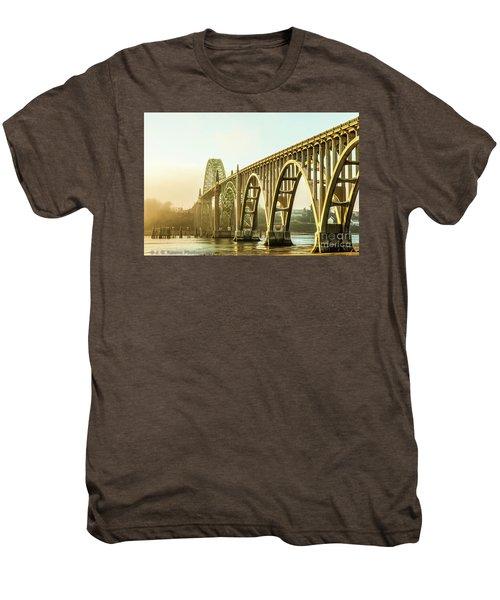 Newport Bridge Men's Premium T-Shirt