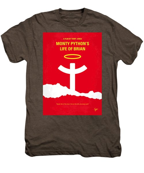 No182 My Monty Python Life Of Brian Minimal Movie Poster Men's Premium T-Shirt