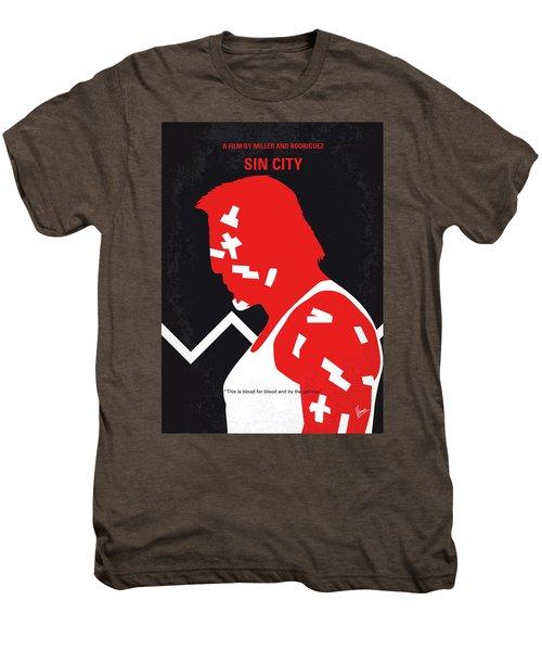 No304-1 My Sin City Minimal Movie Poster Men's Premium T-Shirt