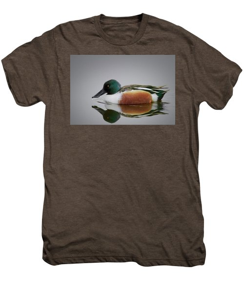 Northern Shoveler Men's Premium T-Shirt
