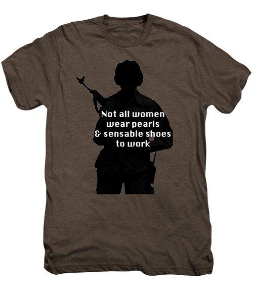 Not All Women Men's Premium T-Shirt by Melany Sarafis