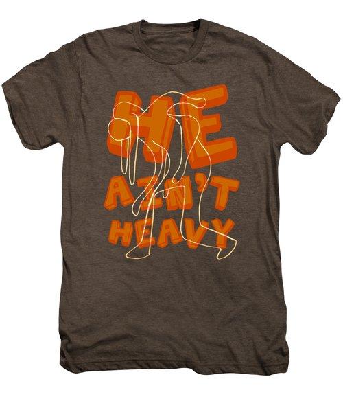 Not Heavy Men's Premium T-Shirt by Michelle Calkins