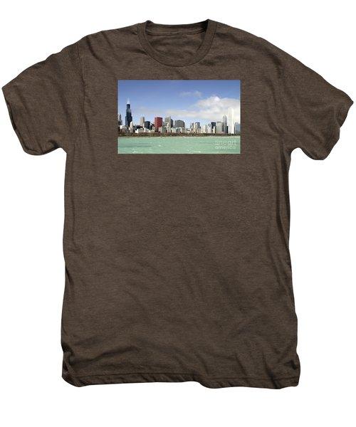 Off The Shore Of Chicago Men's Premium T-Shirt