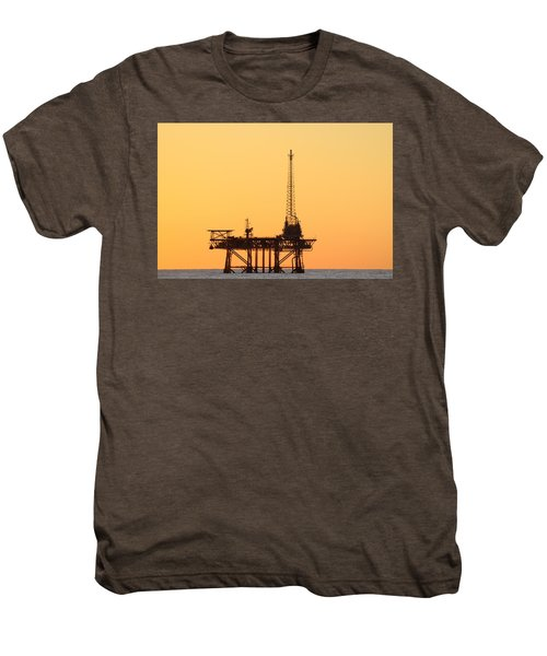 Offshore Oil And Gas Platform  Men's Premium T-Shirt