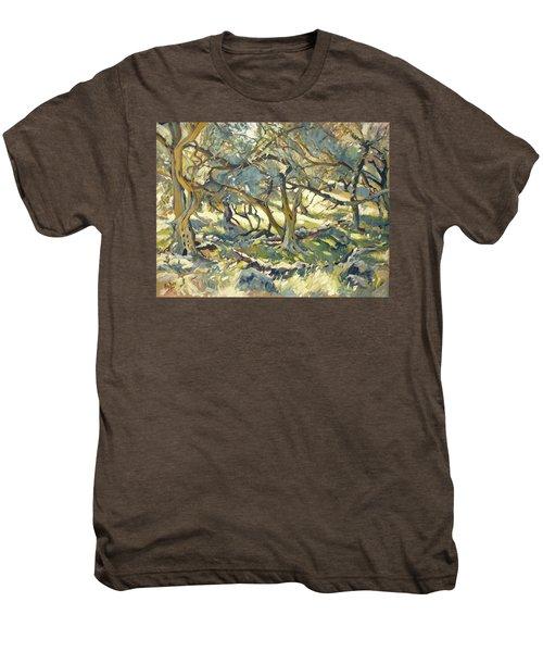 Oilve Grove Marmari Beach Men's Premium T-Shirt