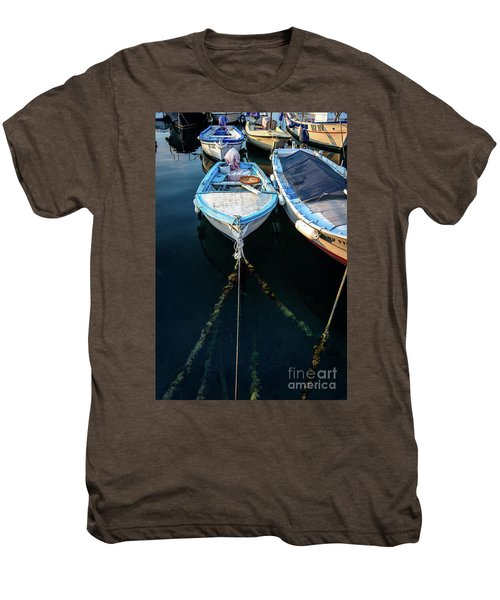 Old Fishing Boats Of The Adriatic Men's Premium T-Shirt