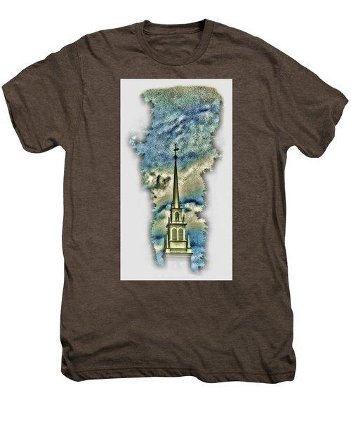 Old North Church Steeple Men's Premium T-Shirt