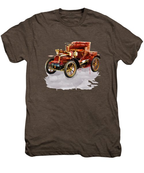 Oldtimer Car Watercolor Men's Premium T-Shirt