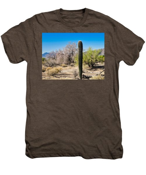 On The Ironwood Trail Men's Premium T-Shirt
