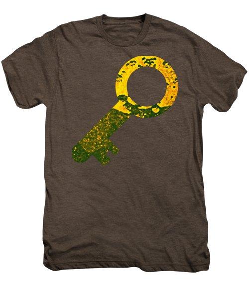 One Key One Heart Men's Premium T-Shirt
