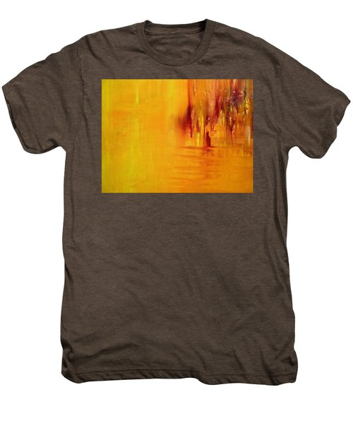 Orange Men's Premium T-Shirt