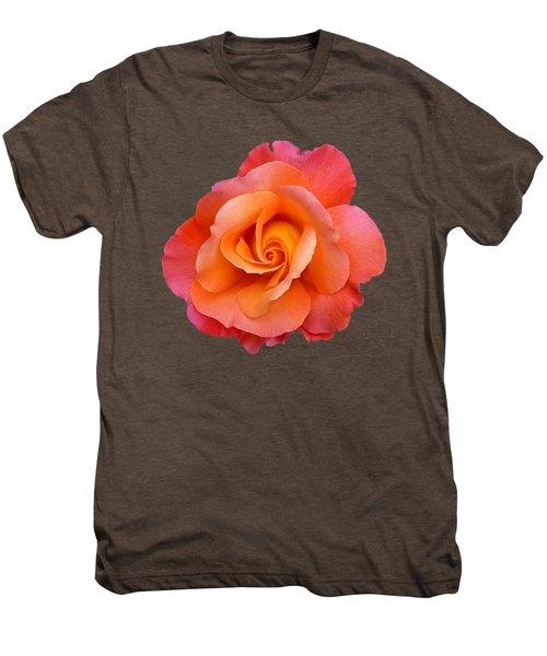 Orange Rosebud Highlight Men's Premium T-Shirt