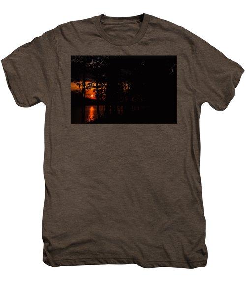 Orange Sunset Men's Premium T-Shirt