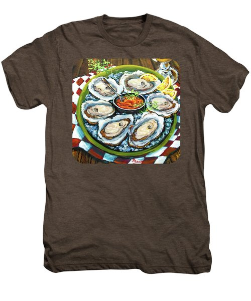 Oysters On The Half Shell Men's Premium T-Shirt by Dianne Parks