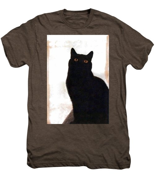 Panther The British Shorthair Cat Men's Premium T-Shirt