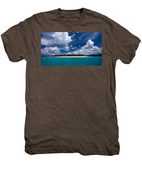 Paradise Is Sandy Cay Men's Premium T-Shirt