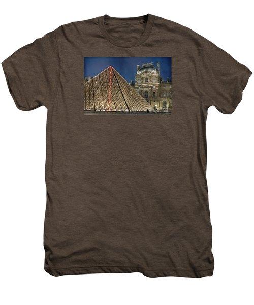 Paris Louvre Men's Premium T-Shirt by Juli Scalzi