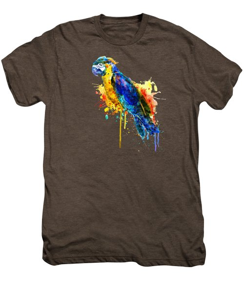 Parrot Watercolor  Men's Premium T-Shirt