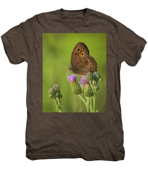 Men's Premium T-Shirt featuring the photograph Pauper's Throne by Bill Pevlor