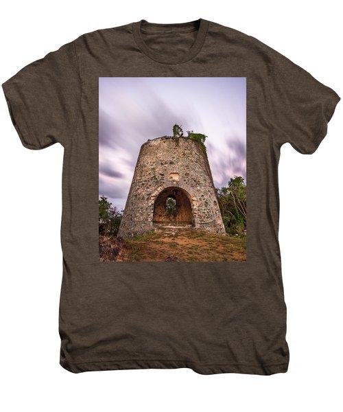 Men's Premium T-Shirt featuring the photograph Peace Hill Sugar Mill by Adam Romanowicz