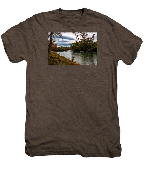 Peaceful River Men's Premium T-Shirt