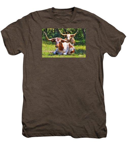 Peaceful Weapons Men's Premium T-Shirt