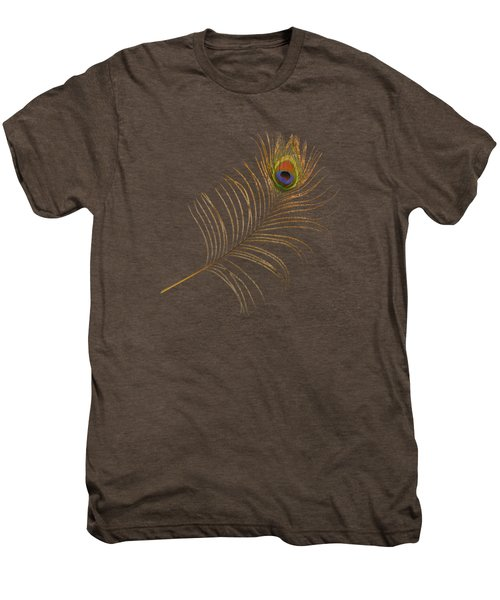 Peacock Feather Men's Premium T-Shirt