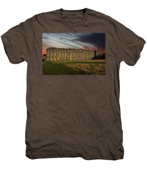 Petworth House Men's Premium T-Shirt by Martin Newman