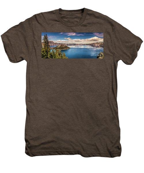 Crater Lake Men's Premium T-Shirt