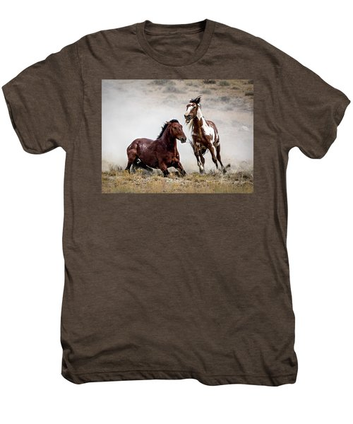 Picasso - Wild Stallion Battle Men's Premium T-Shirt