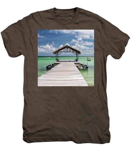 Pigeon Point, Tobago#pigeonpoint Men's Premium T-Shirt