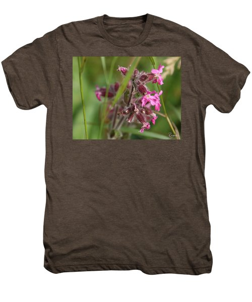 Pink Campion In August Men's Premium T-Shirt