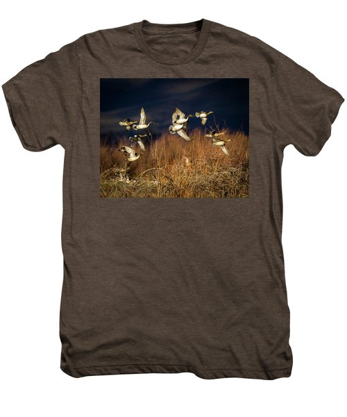 Pintails And Wigeons Men's Premium T-Shirt