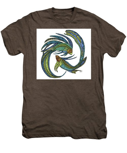 Pisces Men's Premium T-Shirt