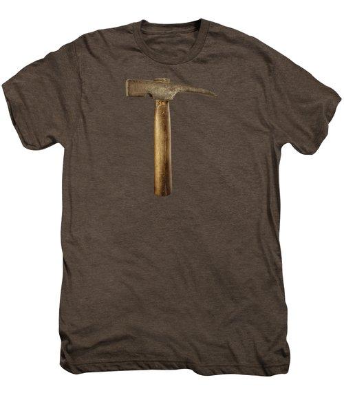 Plumb Masonry Hammer Men's Premium T-Shirt