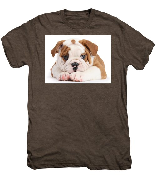 Po-faced Bulldog Men's Premium T-Shirt