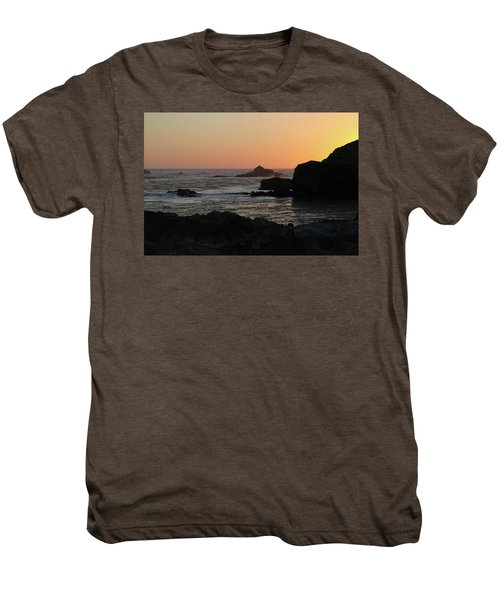 Point Lobos Sunset Men's Premium T-Shirt