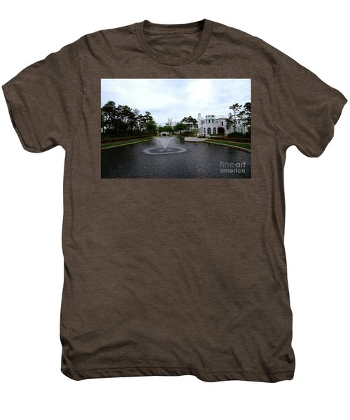 Pond At Alys Beach Men's Premium T-Shirt