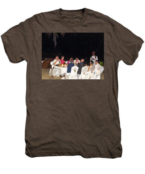 Post Wedding Celebrations Men's Premium T-Shirt