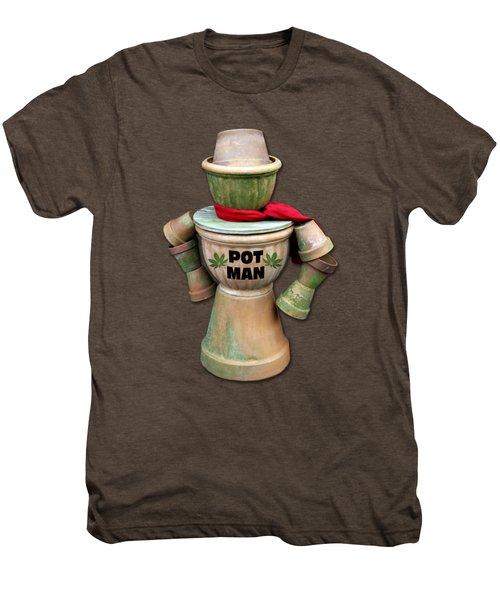 Pot Man T-shirt Men's Premium T-Shirt